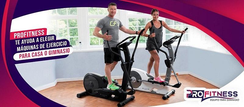 PROFITNESS Te ayuda a elegir máquinas de ejercicio para casa o Gimnasio